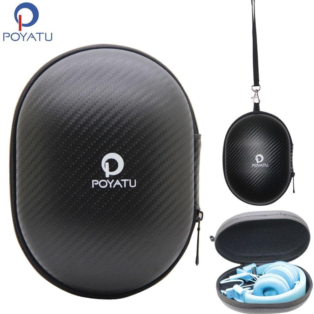 Funda de auriculares POYATU para Urbanears Plattan 2 Hellas Plattan ADV inalámbrico Bluetooth en la oreja auriculares de almacenamiento portátil