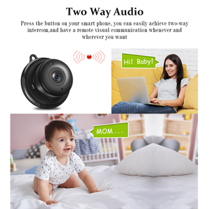 Image 5 - Full HD 1080P Mini Wireless WIFI Smallest  IP Camera Infrared Night Vision P2P Mini Cam Camcorders Kits Dome Home Security CCTV