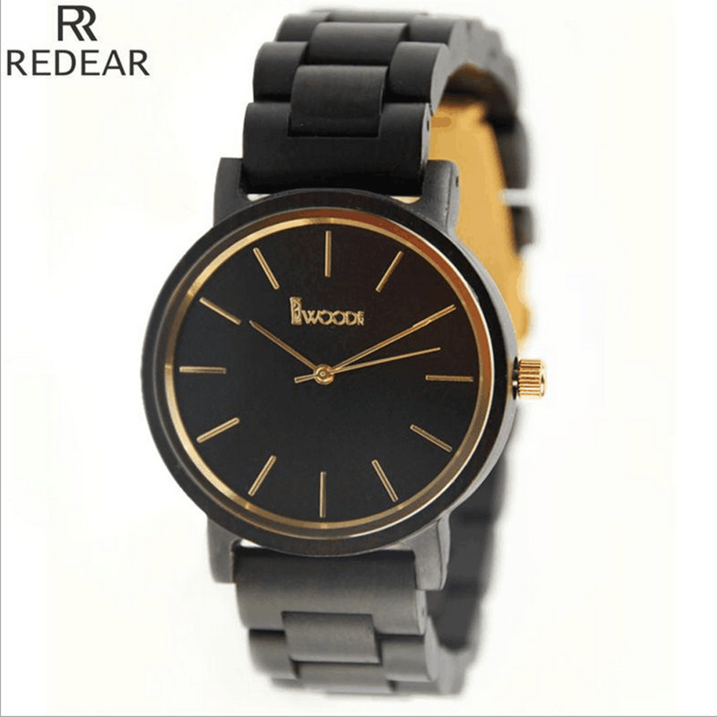 REDEAR904 all bamboo material luxury men s font b watch b font font b watch b