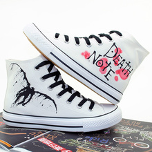 Comfortable Death Note Canvas Sneakers