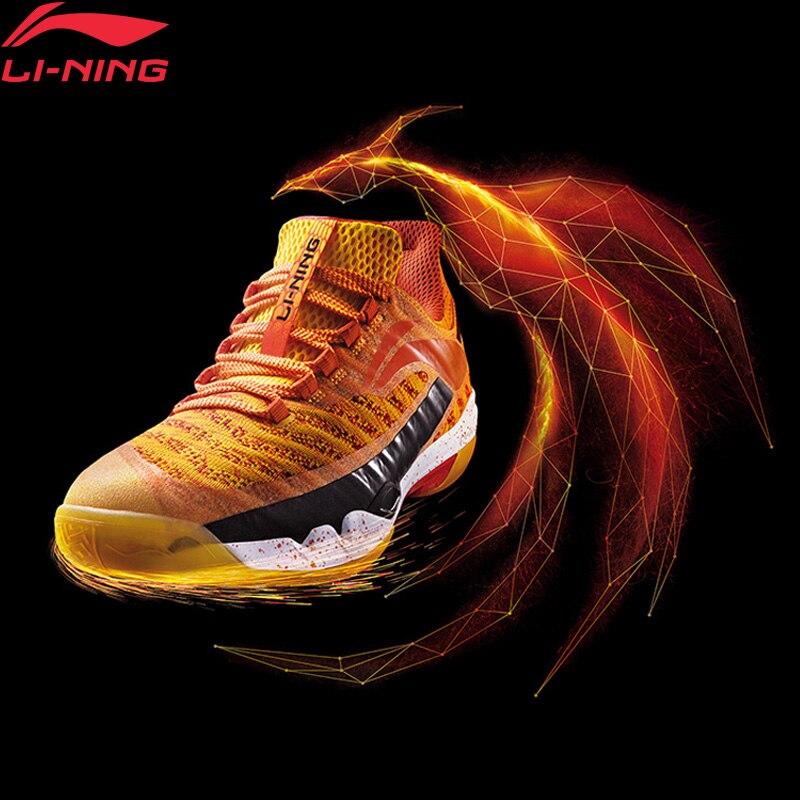 Chaussures de Badminton professionnelles pionnières li-ning pour hommes LN BOUNSE doublure de coussin chaussures de Sport portables baskets AYAN011 XYY083