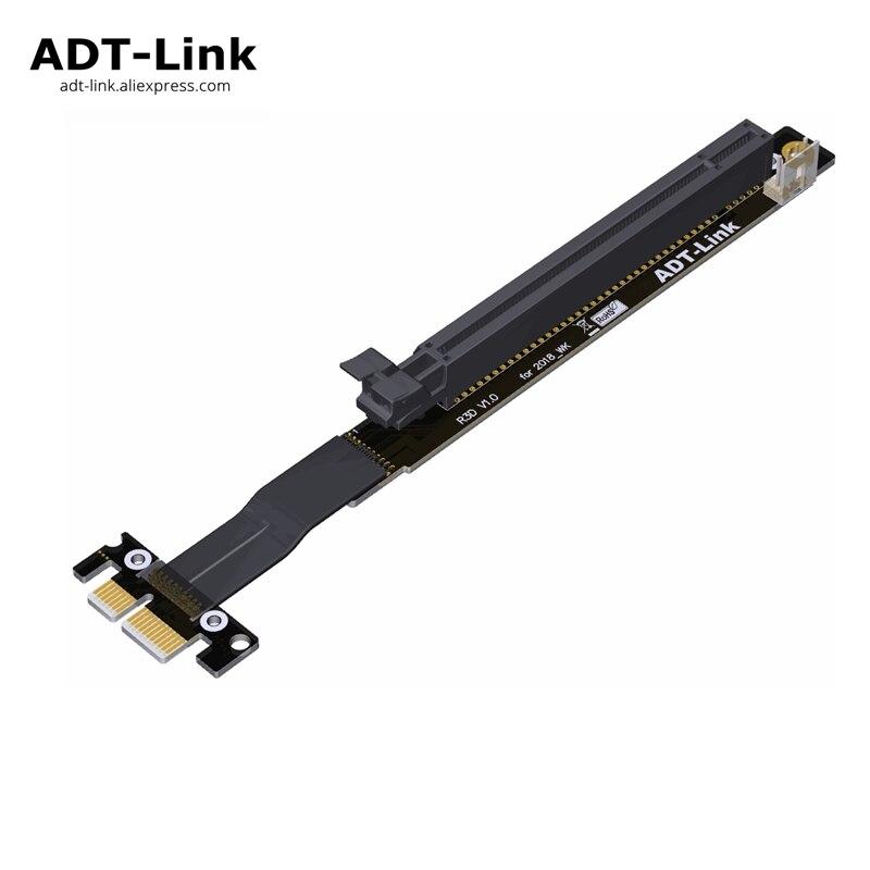 2018 New Design Gen3 0 PCIe Riser font b Card b font 1x 16x Adapter PCI
