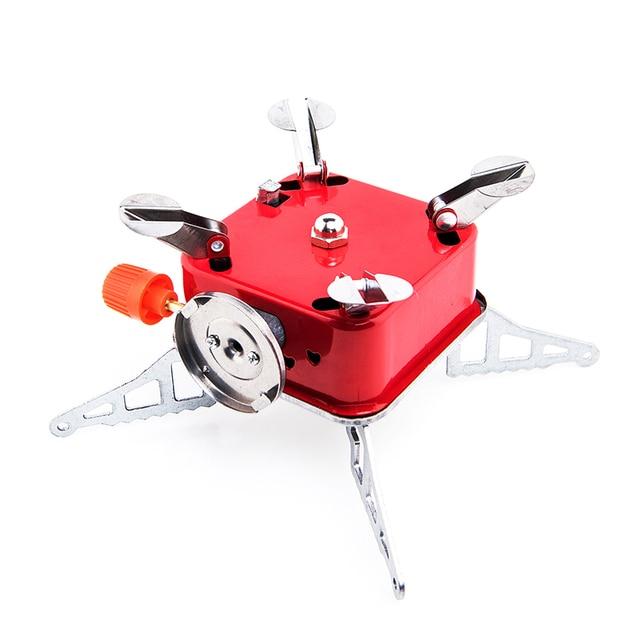 Widesea Gas Burner Camping Stove Tourist Equipment Lighter Outdoor Cooker Kitchen Propane Butane Gas stove Hiking Fishing 5