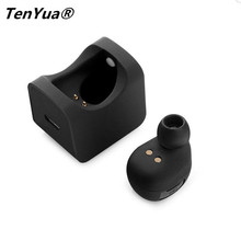 TenYua Mini Wireless Headphones Bluetooth Car Earphones Muis