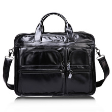 Newest Men Genuine Leather Handbags for Men Fashion Briefcase Male Large Capacity Business Hand Bags Office Computer Laptop Bag