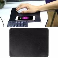 Gaming Mouse Pad Mat Qi Chargeur Sans Fil De Charge Pour iPhone 8/X Samsung Galaxy Note 5/S8 Nexus 5/6/7 Tous Les Qi-Appareils Compatibles C26
