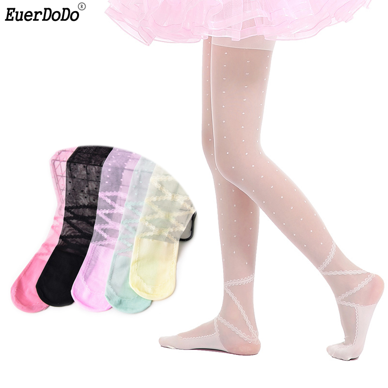 Lace Kids Tights Stocking For Girls Pantyhose Girl Ballet Stockings 2 3 4 5 6 7 8 9 10 Years Children Costume