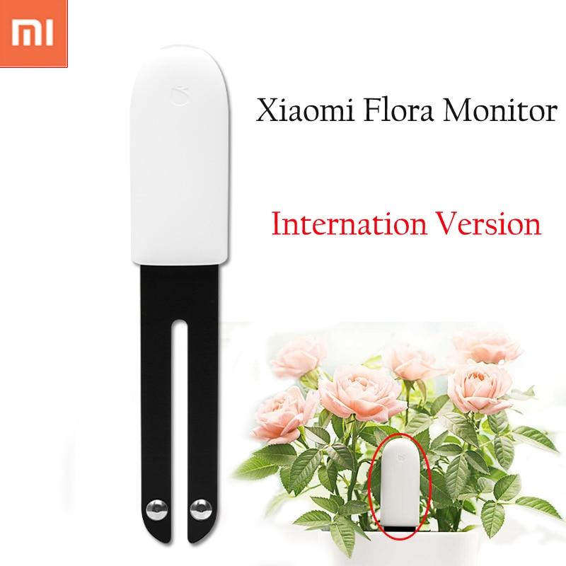 International version Xiaomi Mi Flora Monitor Digital Plants Grass Flower Care Soil Water Light Smart Tester Sensor for Garden
