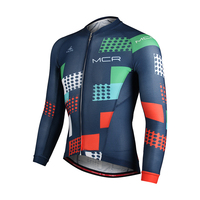 MOUNTAINPEAK Summer Men Cycling Shirt Bicycle Anti UV Riding Racing Bicycle Clothes Cloth Tight Riding Clothe MTB Bike Jersey