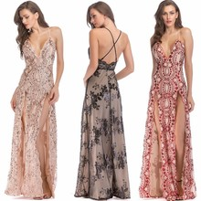 MUXU new embroidery sequin dress backless glitter womens clothing vestido plus size strapless high quality long vestidos