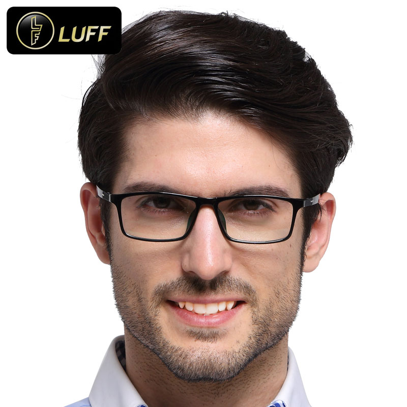 bf5c11c3a4cf 2016 Fashion eyeglasses frames men spectacle frame for degree of glasses  myopia optical frame Male degree of glasses frame 8609
