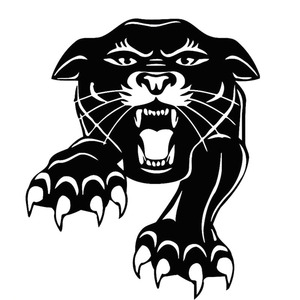 12.6X15CM Animal Predator Tiger Tribal Vinyl Decal Black Silver Car Sticker Car-styling S6-2273
