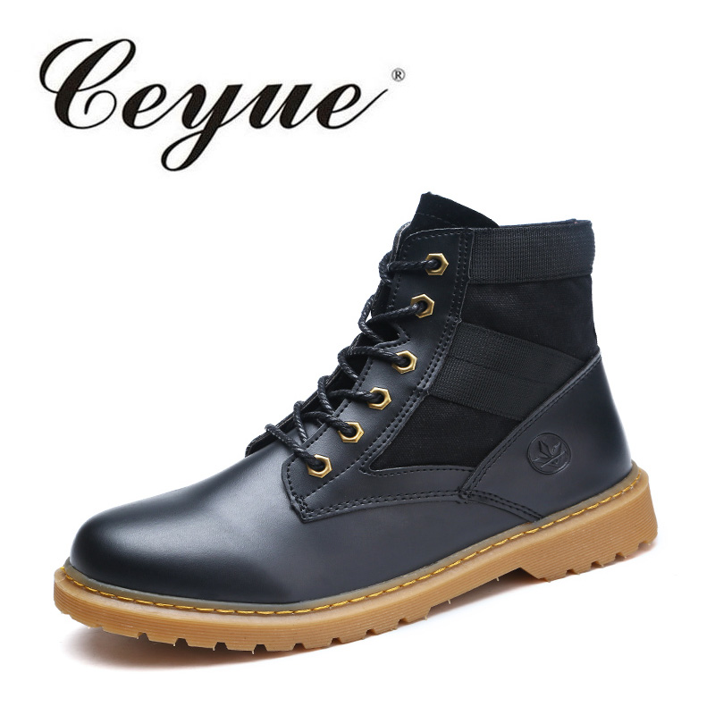Ceyue HOT SALE Shoes Women Retro Boots Handmade Ankle Boots Casual Flat Comfort Boots Fashion New Short Boots Plus Size 42 hot sale new products for women s shoes flat sheet canvas shoes camouflage roses multicolor big yards 42