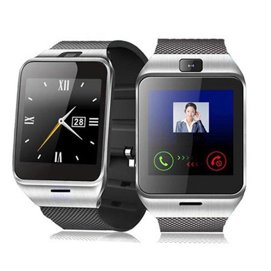 NFC font b Smart b font font b Watch b font GV18 With Camera SIM Card