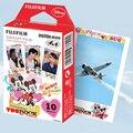 Alta qulaity 10 hojas original fujifilm instax mini instantánea película de dibujos animados para 7 s 8 25 50 s 90 (Mickey Mouse) envío gratis