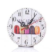 Деревянные настенные часы мультяшное украшение для дома современные деревянные настенные часы под старину деревянные настенные часы для дома, кухни, офиса K402