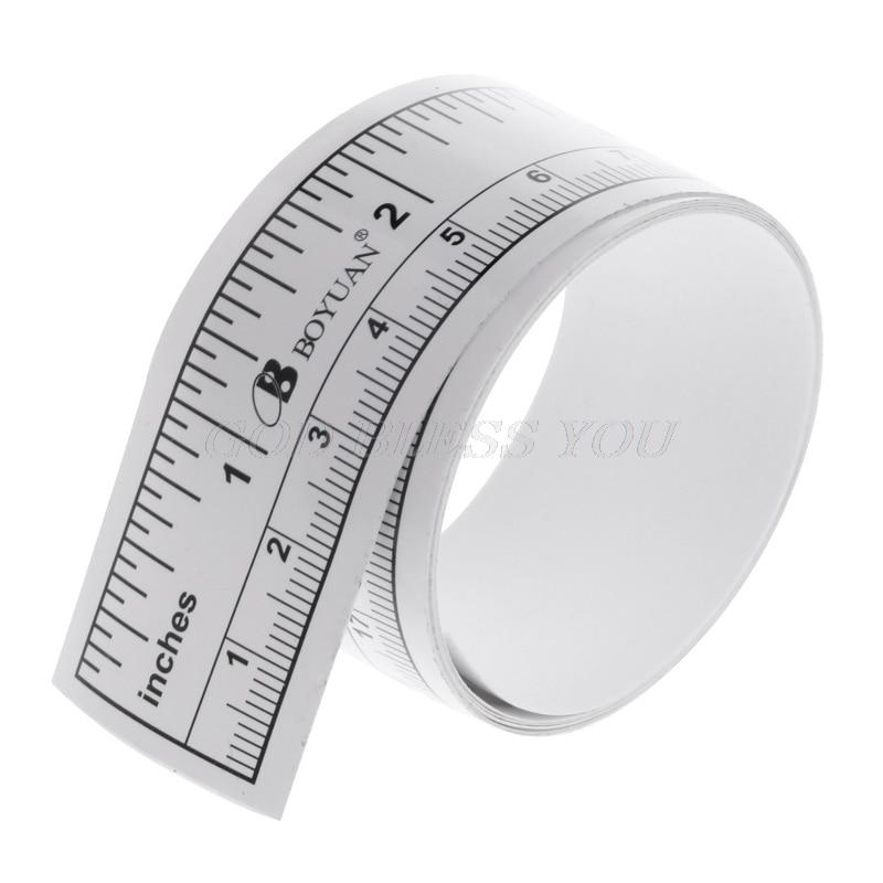 90cm Self Adhesive Metric Measure Tape Vinyl Ruler For Sewing Machine Sticker