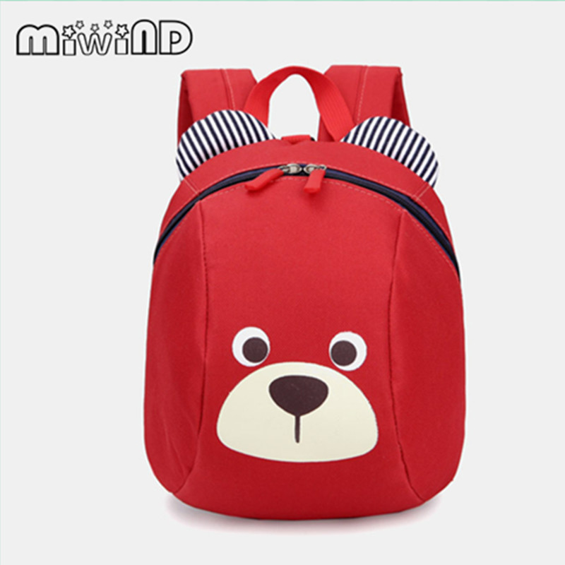 Aged 1-3 Toddler backpack Anti-lost kids baby bag cute animal dog children backpacks kindergarten school bag mochila escolar C46 hot baking diy tool heart shape silicone chocolate lollipop mold with stick