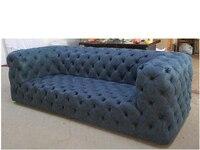 Гостиная диван комплект Честерфилд диван из натуральной коровьей кожи секционные диваны неоклассические muebles де Сала moveis para casa