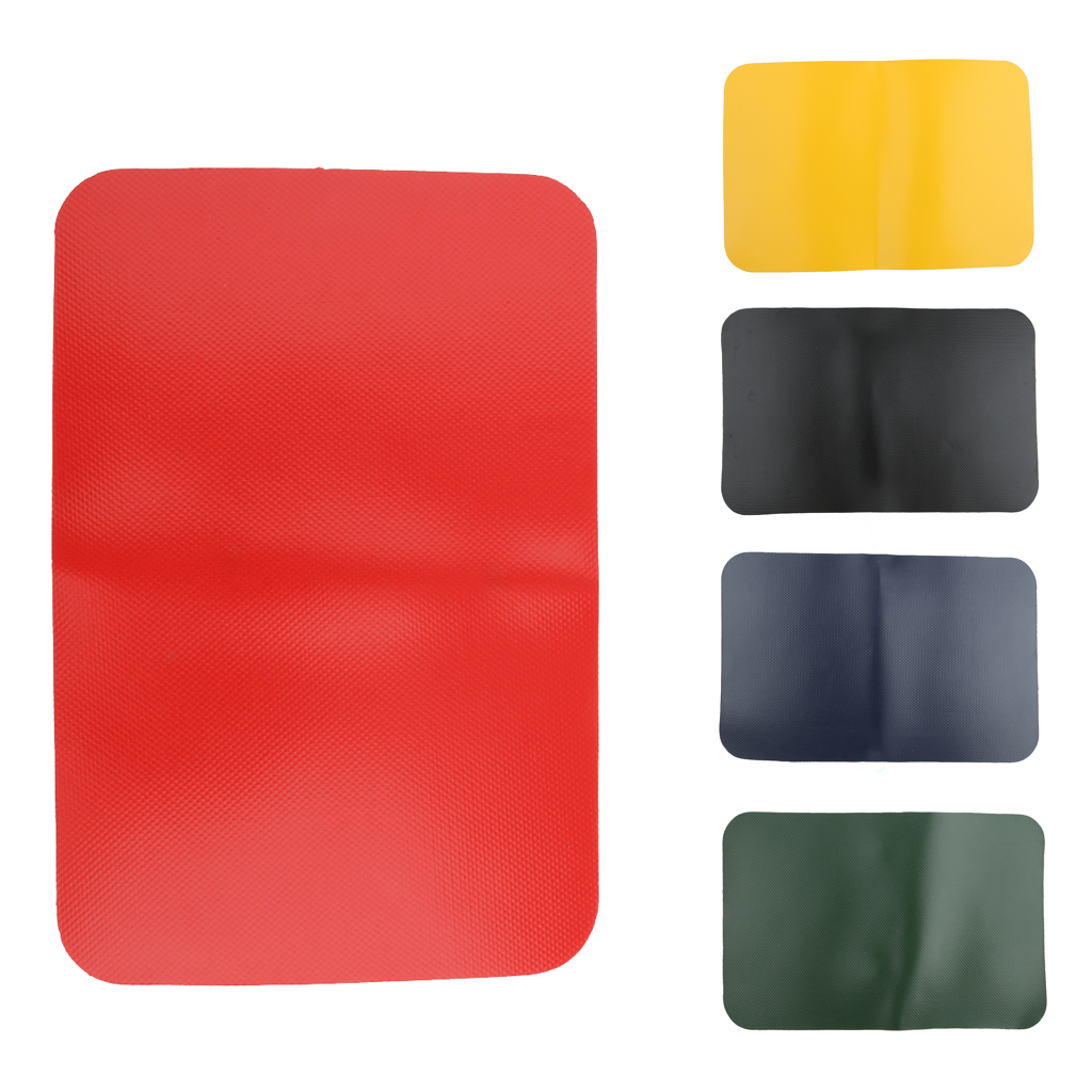 PVC Inflatable Waterproof Kayak Boat Dinghy Rib Canoe Yacht Waterproof PVC Repair Patch Kit 20 X 13cm 5 Colors For Sailing