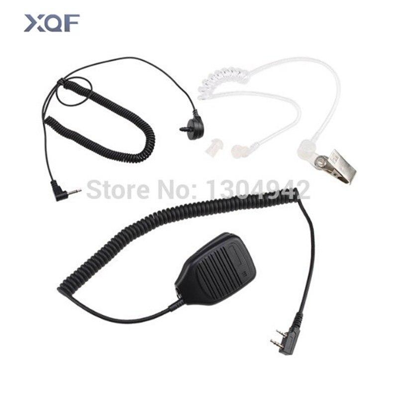 bilder für Neue tragbare handheld lautsprecher schulter mic für kenwood vhf radio tk208/220/320,240/240d/248/250/260/260g/270