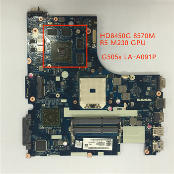Genuine New VALGC_GD LA-A091P main board for Lenovo G505S laptop motherboard pc with HD8450G HD8570M R5 M230 GPU