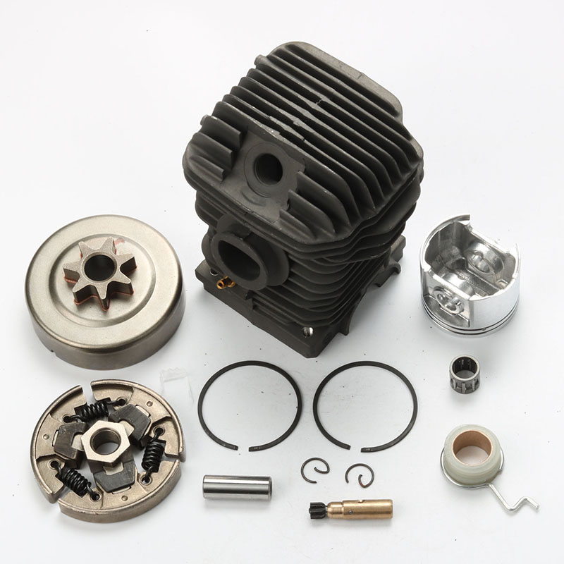 42.5MM Cylinder Piston Kits For Stihl 023 025 MS230 MS250 Chainsaw Clutch W/ Drum Chain Sprocket Bearing Oil Seal 38mm cylinder piston rings needle bearing kit for stihl ms180 ms 180 018 chainsaw