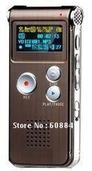 Wholesale -  Free shipping 2GB Dictaphone TEL Voice Recorder MP3 VOX,High Quality