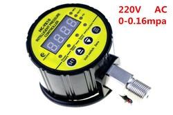 220VAC kontroler elektryczny skontaktuj się z inteligentny HC-Y810 cyfrowy miernik ciśnienia w oponach 0-0.16MPA cyfrowy