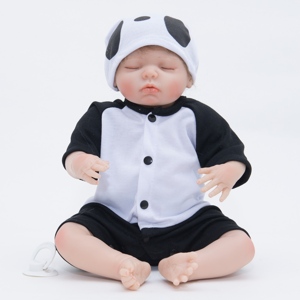 50cm Silicone Dolls Reborn Babe Toys Kids Playmates Early Educational Action Figure Toys Childrens Birthday Christmas Gifts50cm Silicone Dolls Reborn Babe Toys Kids Playmates Early Educational Action Figure Toys Childrens Birthday Christmas Gifts