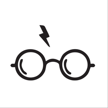 Harry Potter de Vinil Adesivo de Carro Auto Decal Janela Do Carro Exterior-Styling