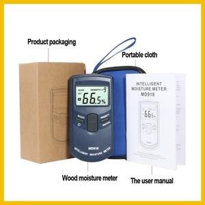 Image 5 - RZ Inductive Wood Timber Moisture Meter Hygrometer Digital Electrical Tester Measuring tool MD918 4~80% Density electromanetic