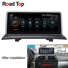 "Carreteras Top 10.25 ""Android car multimedia audio video estéreo Radios Unidad de navegación GPS pantalla Monitores para BMW X3 e83 2004-2010"