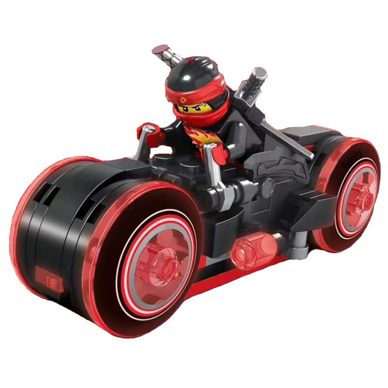2018 New Ideas Compatible Legoinglys NinjagoINGlys Masters of Ninja Genuine Motorcycle Building Blocks Bricks Toys For Children 120pcs new building blocks self locking bricks after completion of transformation can change shape compatible legoinglys toys