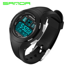 SANDA Brand Children Watches LED Digital Multifunctional Wat