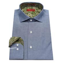 jeans Grey worsted cowboy style cattle men s bespoke tailor made casual font b oxford b