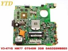 Оригинальный Для ACER V3-471G Материнская плата ноутбука V3-471G HM77 GT640M 2 Гб DA0ZQSMB8E0 испытанное хорошее Бесплатная доставка