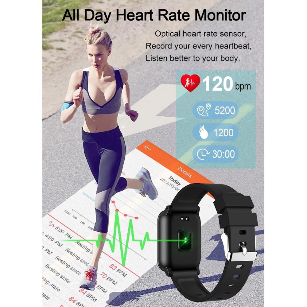 L8STAR Smart Band B1 Super Long Standby Blood Pressure Oxygen Smart Bracelet IP68 Waterproof activity tracker Fitness wristband in Smart Wristbands from Consumer Electronics
