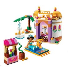 10434 BELA Princess Jasmine's Exotic Palace Model Building Blocks Classic Enlighten Figure Toys For Children Compatible Legoe