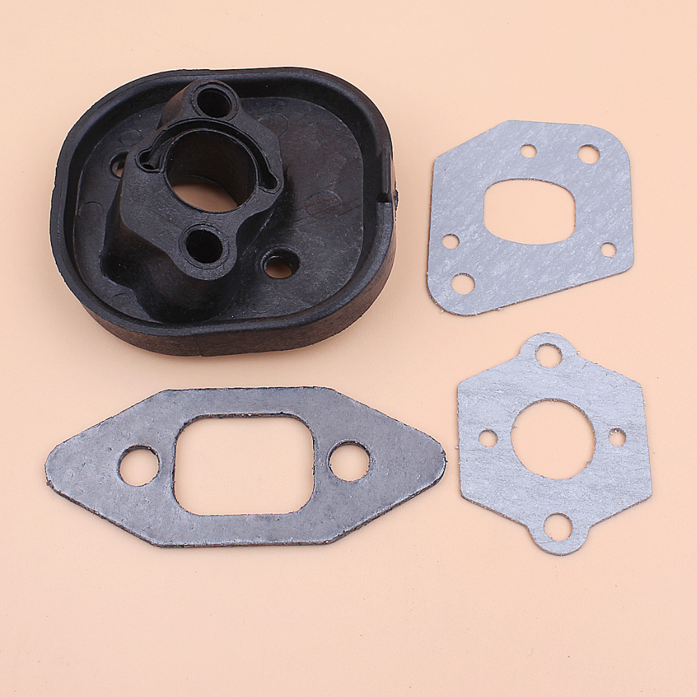 Intake Manifold Carburetor Gasket Kit for Partner Chainsaw 350 351 370 371 420 McCulloch Mac Cat 335 435 440 Chain Saw Spares