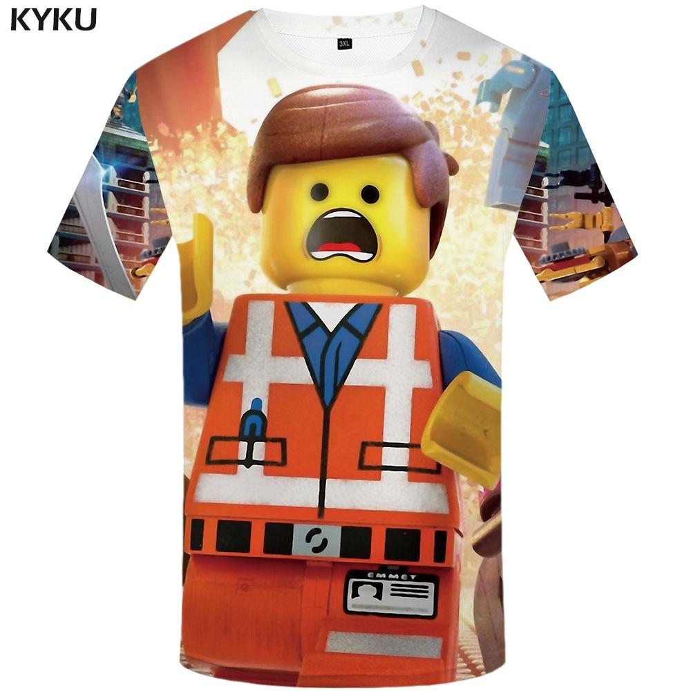 S-5XL Building Block T-Shirt CLASSIC Funny LEGO Party Nerd Geek Retro Tee New