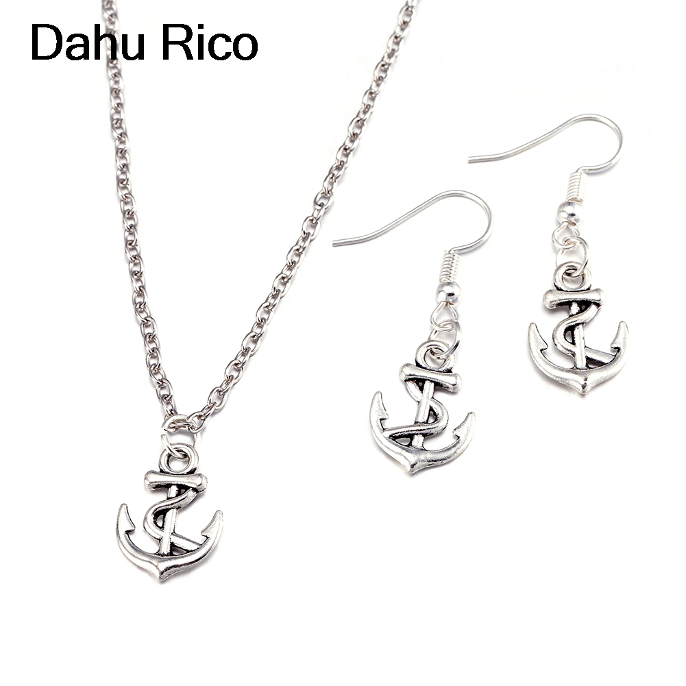 anchor taki seti conjunto joyas bayan gioielli greek joias friends bts Dahu Rico jewelry sets silber