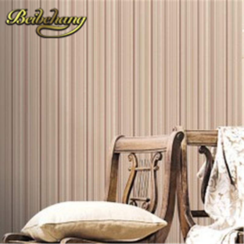 beibehang papel de parede Classic pinstripe embossed bedroom room background beige, white wallpaper for walls 3 d wall paper beibehang girl bedroom wallpaper for walls 3 d purple stripe wall paper tv background wall paper for living room papel de parede