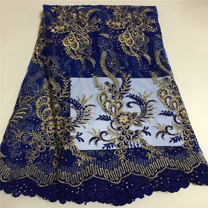 African Lace Fabric 2018 High Quality Lace Embroidery Guipure French Lace Fabric with Stones for Wedding Dress E092528African Lace Fabric 2018 High Quality Lace Embroidery Guipure French Lace Fabric with Stones for Wedding Dress E092528