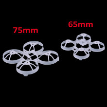 Bwhoop65 65mm/Bwhoop75 75mm sin escobillas pequeño bwoop marco kit para interior FPV DIY RC Racing Drone Racer Quadcopter accesorio(China)
