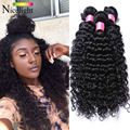 """Bloomy Hair Extensions Brazilian Virgin Hair Deep Wave1pc Deep Wave Brazilian Hair 8""""-28"""" Curly Human Hair Weave Bundles"""