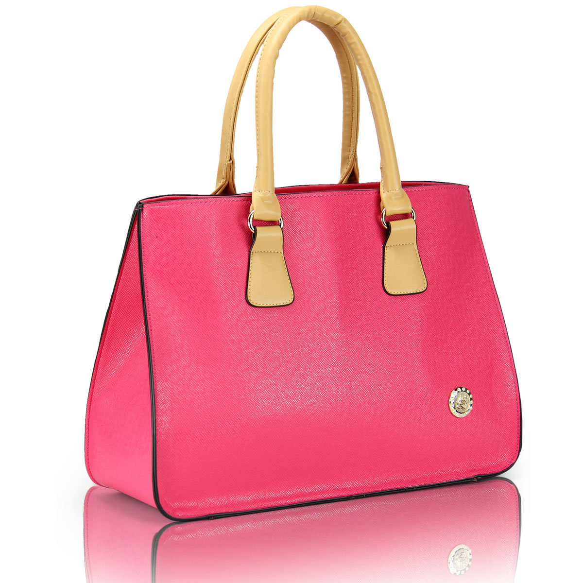 2013 spring female bag big fashion work bag business casual women's color block handbag