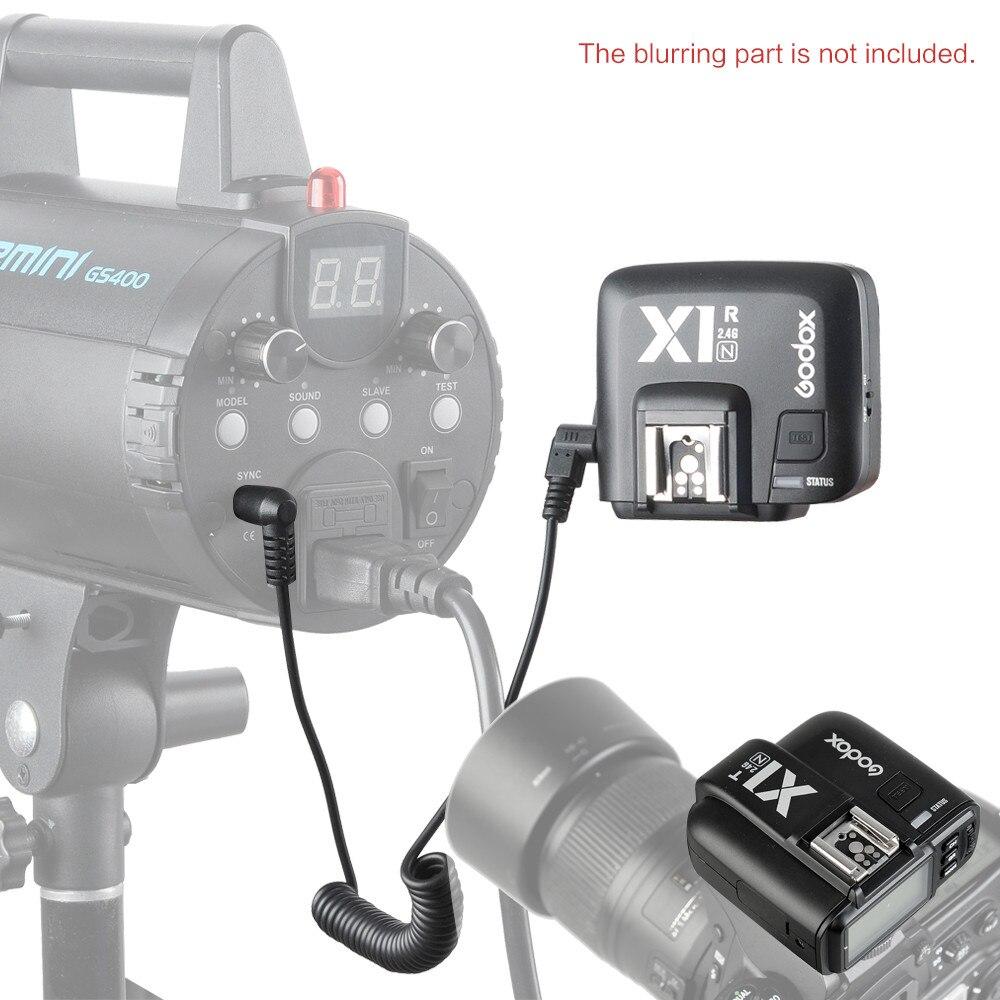 Godox X1T-N + X1R-N HSS ttl 2,4 ГГц Беспроводной вспышки триггера передатчик и приемник с Экран для цифровых зеркальных камер Nikon