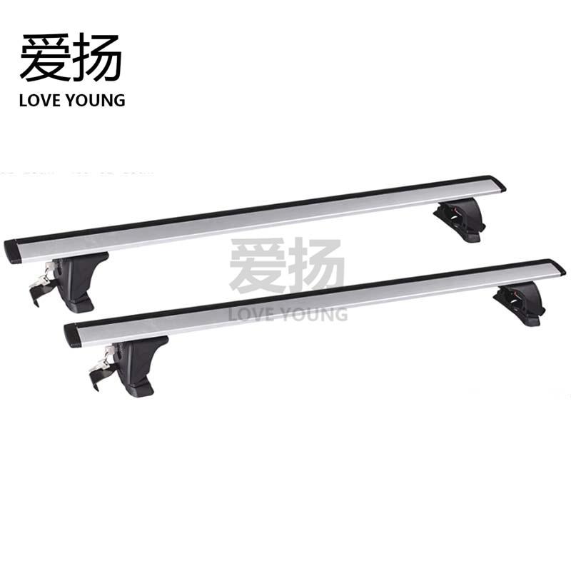 Roof top rack for car Aiyang general car automobile roof luggage rack bicycle frame bar rack