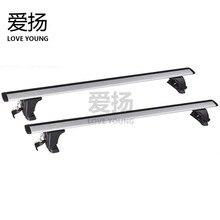 Крыша верхняя стойка для автомобиля Aiyang общие автомобильные Багажник на крыше автомобиля велосипедная Рама бар стойка путешествия бизнес автомобиля модификация
